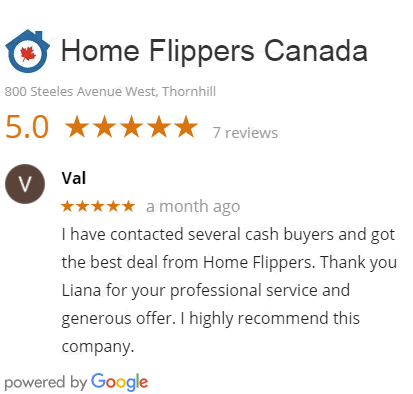 Home Flippers Google Reviews